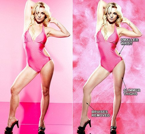 Britney Spears Without Photoshop