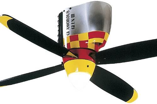 Ceiling fans — natural cooling of habitation