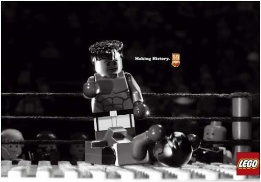 Lego boxing by WOW Barbie