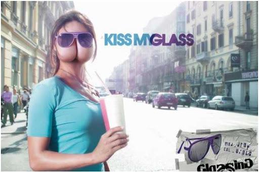 Kiss my sun glass!