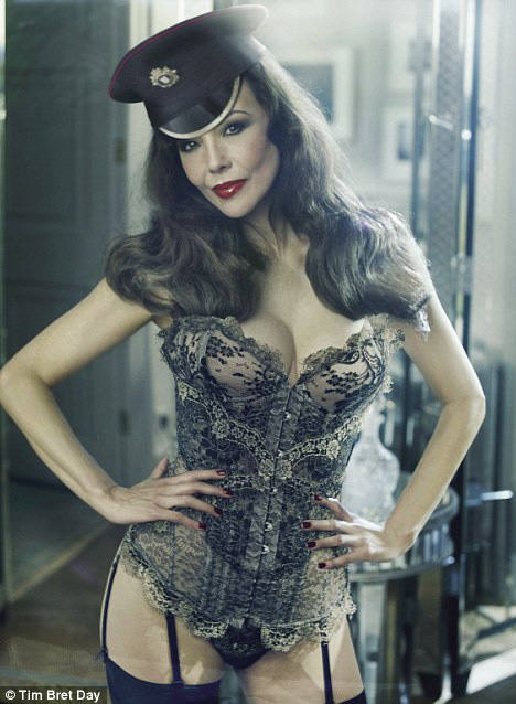 57-year-old model in advertising Agent Provocateur
