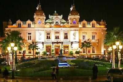 Casino of Monaco. Monte-Carlo