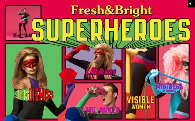 Mad Superheroes Advertise Diesel Underwear