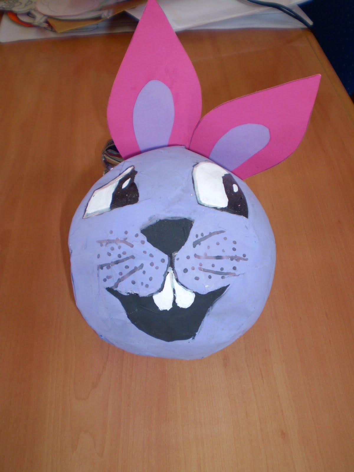 como hacer una mascara de globo y papel buscar con