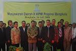 Pelantikan BPD HIPMI Propinsi Bengkulu