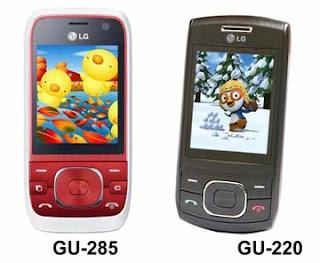 LG GU-285 and LG GU-220