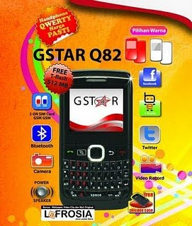 GSTAR Q82  qwerty phone