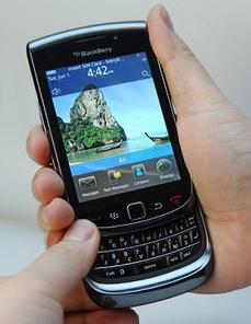 Blackberry 9800 slider  torch