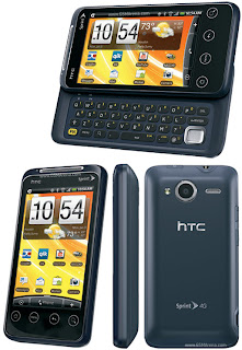 HTC Shift EVO 4G-8