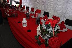 Salah satu konsep moden untuk meja pengantin