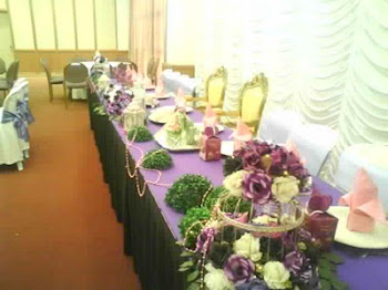 Table deco..all by ASYIQ's