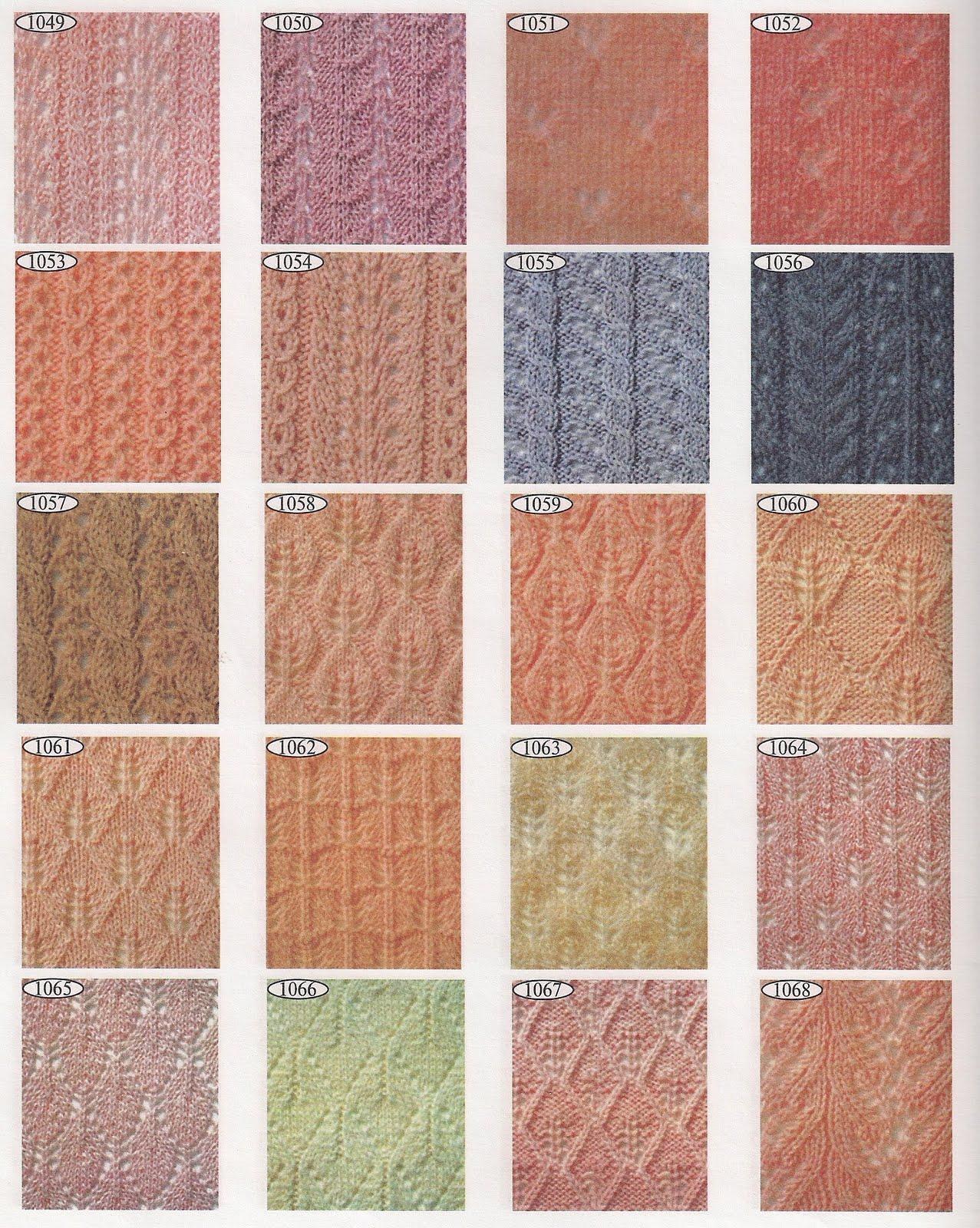 Скачать торрент 2000 эксклюзивных узоров для вязания (2000) 61