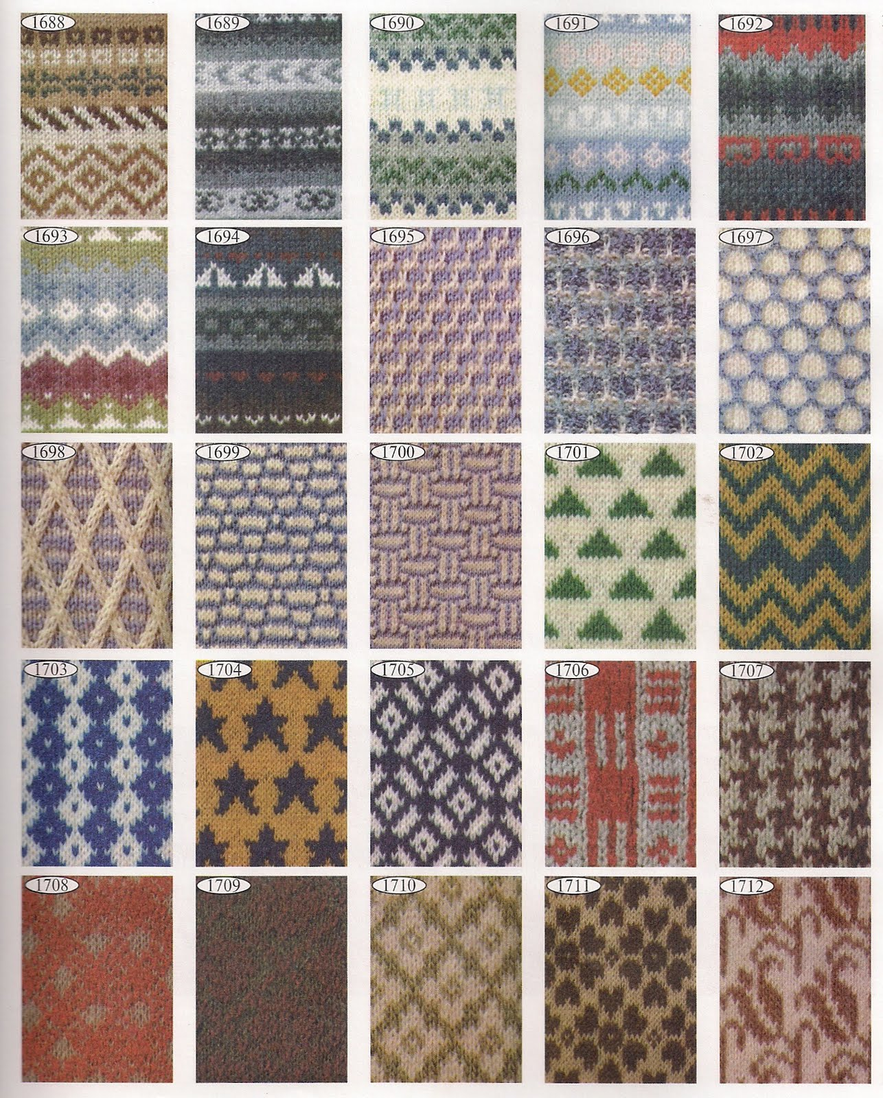 Скачать торрент 2000 эксклюзивных узоров для вязания (2000) 39