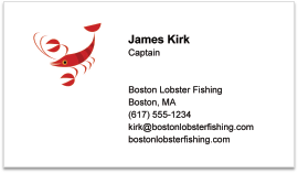 Lal pages make business cards