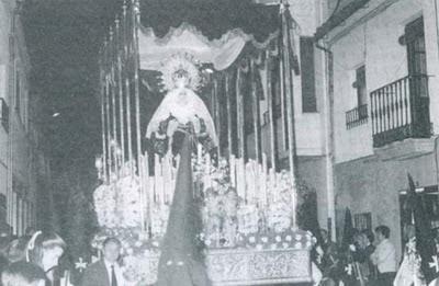 Ntra. Sra. de la Amargura en 1984
