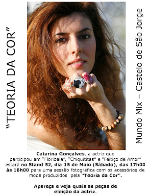 "Catarina Gonçalves é o rosto ma marca ""Teoria da Cor"""