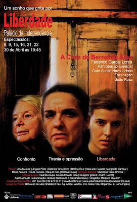 """""""A Casa de Bernarda Alba"""" Um Sonho que Grita por LIBERDADE"""
