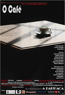 """Teatrocinearte A Barraca - """"O Café"""""""