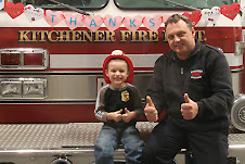Eric and Firefighter Kevin