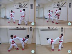 Jovens treinando competição