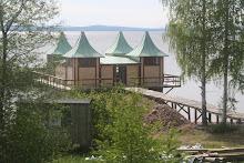 Kallbadhuset vid Siljan