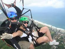 Handgliding in Rio