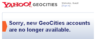 geocities closed