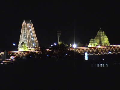 Prati Balaji temple - Ketkawle near Pune night view
