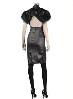 fur no no fashion dress designer