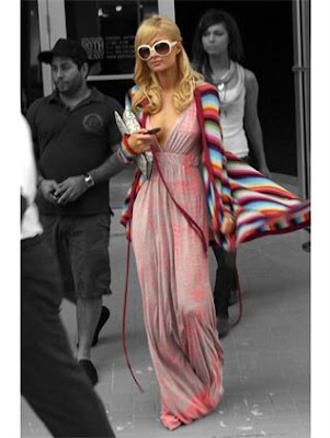 paris hilton dress fashion style gypsy 05