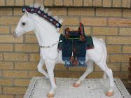 Upcycled Kazakh Horse