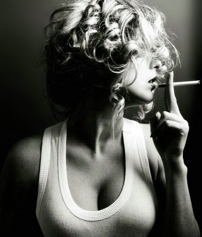 Smoking girl girl portrait woman beauty sexy art photo smoking people large