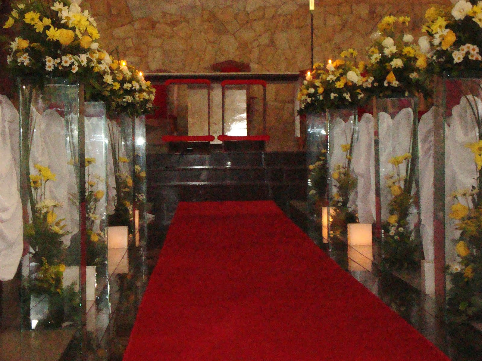 decoracao de casamento na igreja azul e amarelo:decoração de igreja decoração de igreja