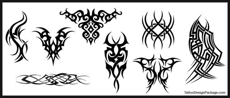 polynesian tattoo meaning. Kirituhi Polynesian Inspired (Set)   Tribal