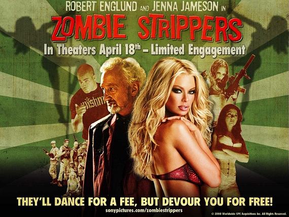 zombie stripper poster