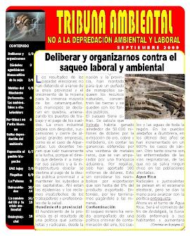 Boletín Nº 1 TRIBUNA AMBIENTAL