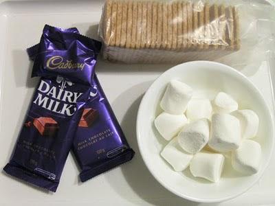 Smore Ingredients - Dairy Milk