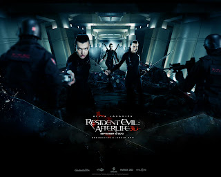Resident Evil Afterlife 3D Movie Poster