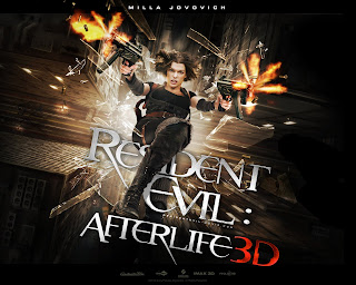 Resident Evil Afterlife 3D Movie Poster Wallpaper
