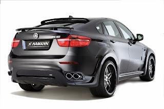 Hamann BMW X6 Tycoon Rear HD Wallpaper