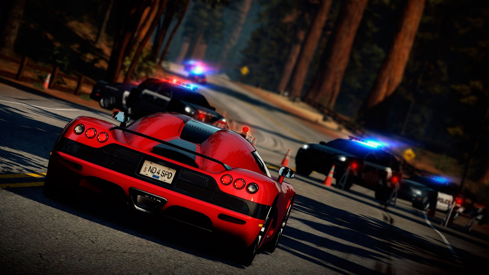 Need for speed hot pursuit hd duvar kağıtları