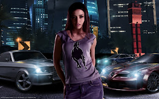 Hot Need For Speed Girl HD Wallpaper