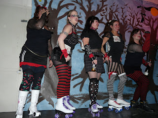 roller derby waving hand source not all who wander are lost antarctica the halloween edition