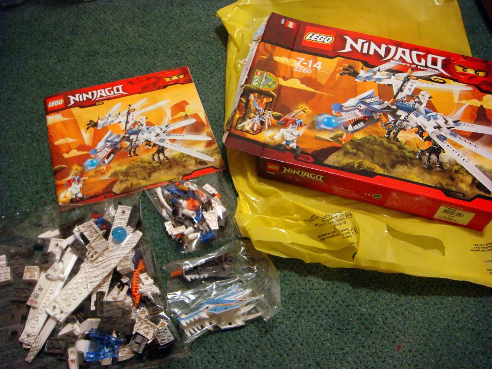 Foxs Tales Lego Ninjago Dragon Review