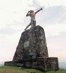 Antiguo monumento cacique Pipínta....