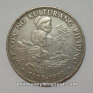 Peso Dekada ng Kulturang Pilipino Commemorative Coin