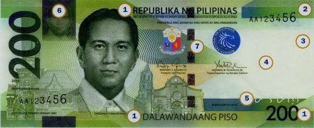 Philippine Money - Peso Coins and Banknotes: New 200 Peso ...