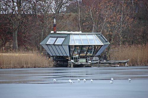 Casa ecológica futurista