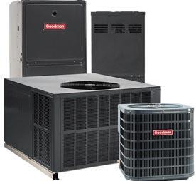 Equipo central de aire caliente y aire fresco
