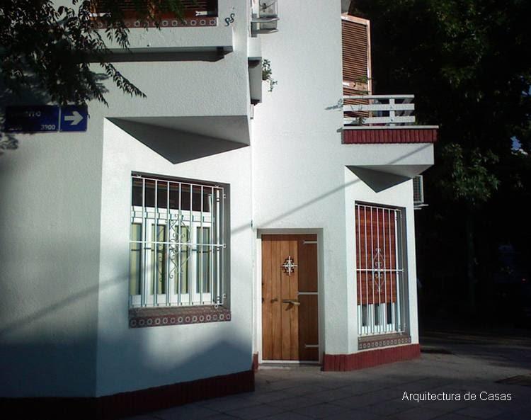 Arquitectura de casas casa moderna en la esquina - Arquitectura casas modernas ...